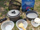 1-2人套锅炉炊具露营驾车徒步日常锅具炉头套装旅行野餐户外用品