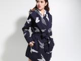 女装 毛衣加工 高仿定制欧 美大牌提花毛衣 加厚秋冬季 外套开衫