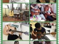 吉他初学者的手型运指龙岗大运学吉他吉祥爱联双龙吉他培训教学