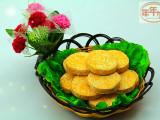 速冻食品 米面 年年加 350g烧烤/油炸南瓜饼 厂家直销批发