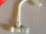 南安水暖五金厂家直销直供 高档塑料横式18管水龙头 工地专用