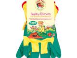 批发 厂家直销 外贸儿童小号手套 园艺劳作帆布五指手套
