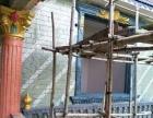 唯美欧式罗马柱屋檐线栏杆专业制作