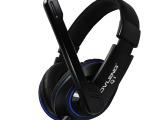 OVLENG/奥兰格Q1 USB电脑头戴式耳机 商务音乐游戏品牌