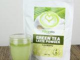 比亚乐福的莱绿茶拿铁粉500g速冲饮茶粉冲调饮品固体饮料韩国进口