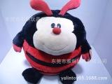 出口欧美日本甲虫动物 毛绒填充pp棉七星瓢虫玩玩具 欢迎定制