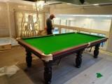 標準美式桌球臺美式黑八臺球桌全新美式臺球桌工廠送貨上門安裝