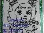 东莞金粉画儿童DIY闪光画金蛋飞鸟玩具彩