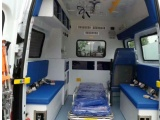 深圳全国护送病人出院返乡 回家医院转送救护车