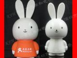 创意兔子迷你小音响 时尚可爱兔子迷你音箱 多媒体USB电脑音箱