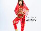 六一儿童舞蹈服装 少儿印度舞演出服 肚皮舞服装 新款印度表演服