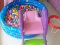 儿童滑梯海洋球池