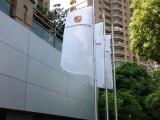 直喷旗帜布制作 宁波直喷旗帜布质量保证 可定制