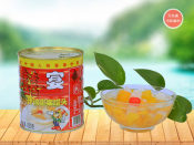 信誉好的小罐头供应商|黄桃罐头代理