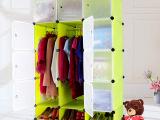 厂家直销DIY魔片百变万能板组合柜置物架收纳柜简易衣柜鞋柜