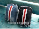 韩版条纹多功能腰包 新款男单肩包运动斜跨挎胸包 男女通用包批发