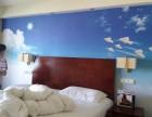 主题酒店壁画/宾馆酒店壁画/姿彩壁画
