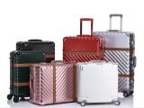 上海方振箱包厂家直销时尚潮流PC铝框拉杆行李箱登机箱托运箱