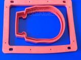防水硅胶发泡密封圈生产厂家定制