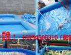 水上充气玩具 移动水上乐园充气城堡水滑梯 鲸鱼岛 蹦极攀岩