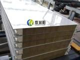 江蘇金屬幕墻板外墻板聚氨酯封邊巖棉夾芯板