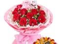 菏泽本地鲜花配送花瓣雨鲜花店市区免费送货上门