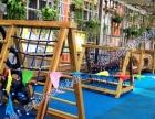 幼儿园儿童组合滑梯木质攀爬架攀岩游乐设备