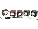 厂家直销 笔记本USB迷你小音箱|方块小音箱 |便携音箱|MP3