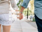 东莞小三劝退师 情感拯救 法律援助
