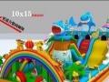 黄山 充气城堡 充气儿童滑梯 厂家专业定制玩具