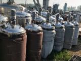 供应二手不锈钢立式储罐二手搅拌罐食品罐乳化罐双层保温罐