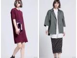 未知未觉时尚冬装品牌女装尾货折扣走份批发哪里便宜