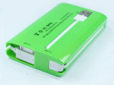 自带线移动充电宝/新款足容量8400毫安苹果手机移动电源充电宝
