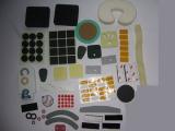 厂家直销黑白EVA胶垫电子塑胶用EVA单双面胶贴产品