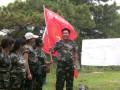 泰安拓展泰安市红十字会中心血站泰山素质拓展训练
