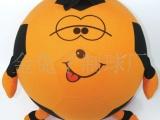 厂家直供 50CM 绒布球 娃娃球 环保玩具球