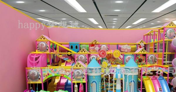快乐梦想城加盟 儿童乐园