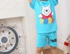 新款韩版休闲纯棉圆领儿童套装T恤厂家定做批发
