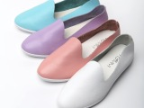 2014新款休闲平底单鞋豆豆鞋 孕妇鞋 妈妈鞋 工鞋 护士鞋真皮