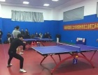 工人文化宫市总工会兵乓球中心配备有国家标准比赛球桌