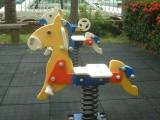 深圳富特乐批发儿童摇摇马 社区儿童转椅 小区儿童玩具