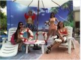 广东海阳牌 塑料沙滩椅 沙滩躺椅茶几休闲椅生产厂家