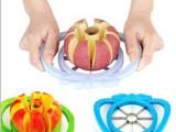T创意家居 大号多功能不锈钢切苹果器 水果切 去核 厨房小工具