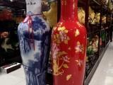 关注度高 西安开业陶瓷花瓶摆件 西安富贵牡丹大花瓶礼品