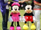 婚庆娃娃情侣正品迪士尼米奇结婚礼物米老鼠毛绒玩具