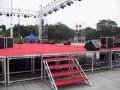 上海新国际展览中心展板制作 展会布置搭建 灯光音响设备租赁