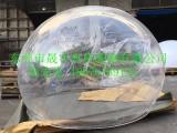 供应厂家直销亚克力大型半球罩圣诞装饰婚庆陈列展示大肚子球