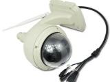 720p室外高清球形手机监控摄像机 远程无线wifi网络摄像头