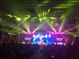 天津灯光音响舞台背景板大屏启动球拱门空飘气柱租赁摄影摄像