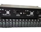 HY-2U/14C 光纤收发器机框双电源供电双风扇散热